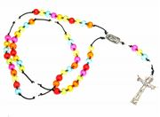 Make your own rosary beads - using cord